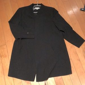 BOGO FREE Laura Plus long lined blazer jacket 18